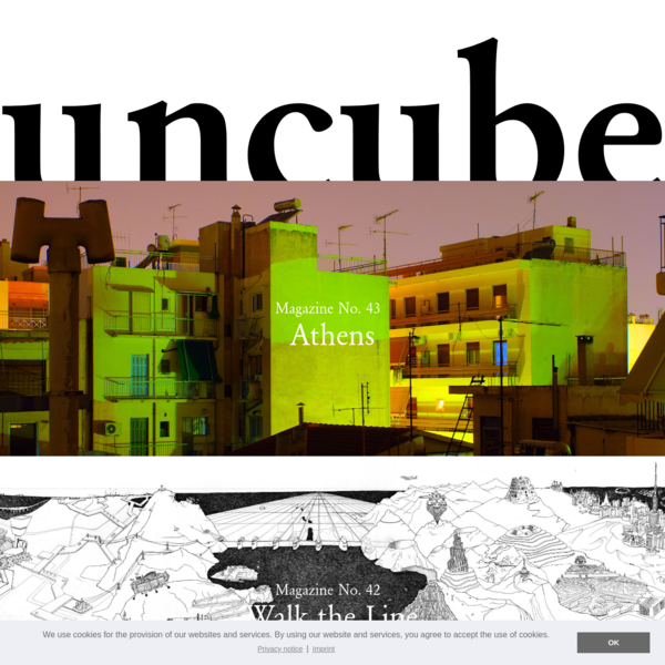 uncube magazine - architecture, design, products, materials