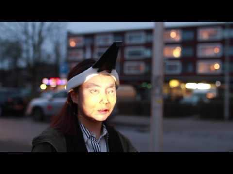 wearable face projector