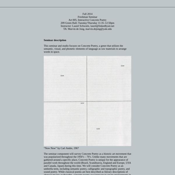 Very Interactive | Syllabus