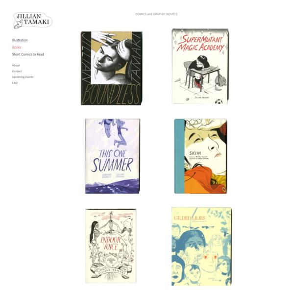 Books - Jillian Tamaki