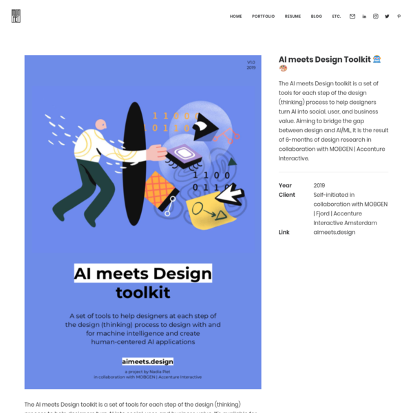 AI meets Design Toolkit 🤖🎨