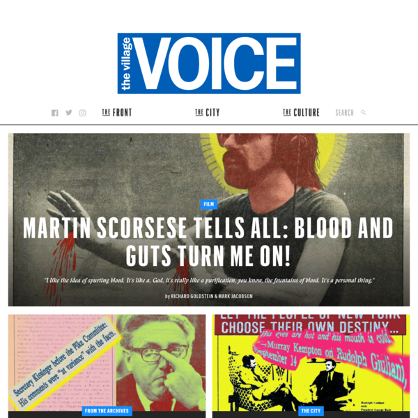 Village Voice | New York News, Food, Culture and Events