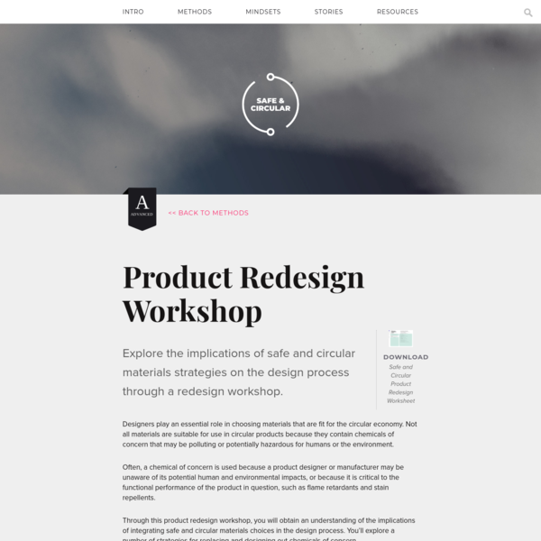 Product Redesign Workshop