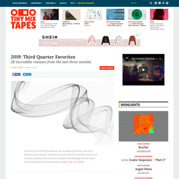 2019: Third Quarter Favorites