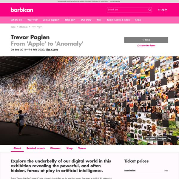 Trevor Paglen | Barbican