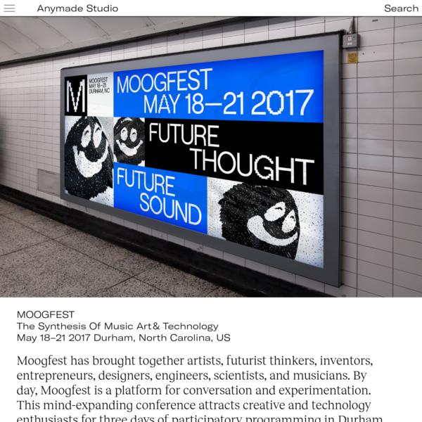 Moogfest | Anymade Studio