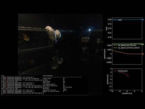 Autonomous Imaging of an Asteroid using Spacecraft Simulator