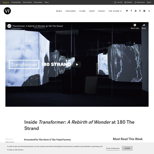Inside Transformer: A Rebirth of Wonder at 180 The Strand - The Vinyl Factory