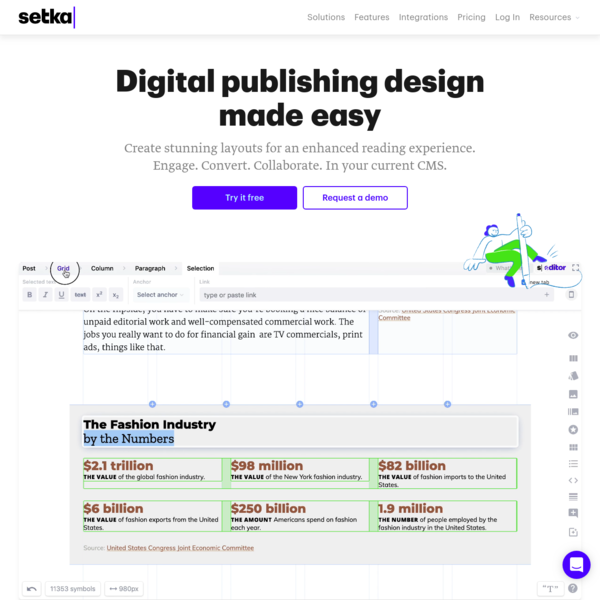Editorial Experience Design for Everyone - Setka Editor