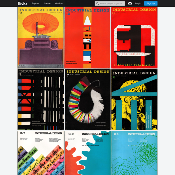 Industrial Design Magazine 1950s/1960s/1970s