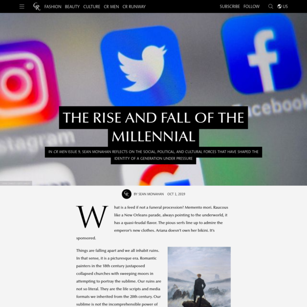 The Rise and Fall of the Millennial