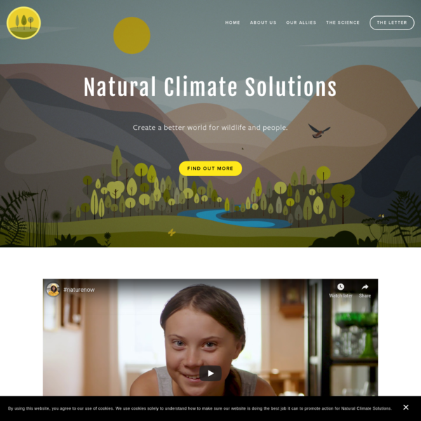 Natural Climate Solutions
