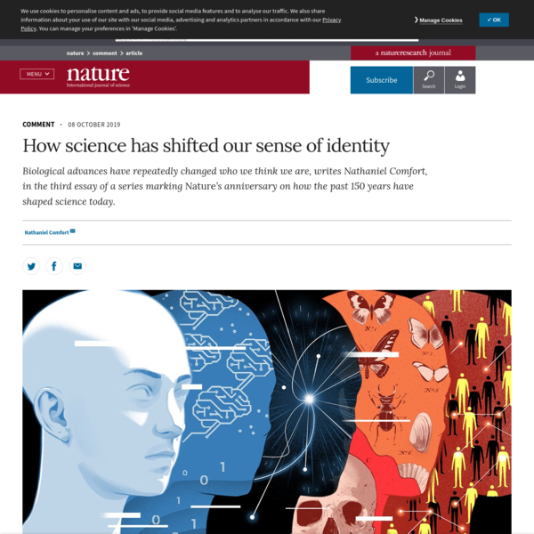 How science has shifted our sense of identity