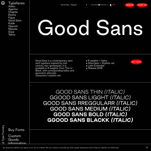 Good Sans - Good Type Foundry