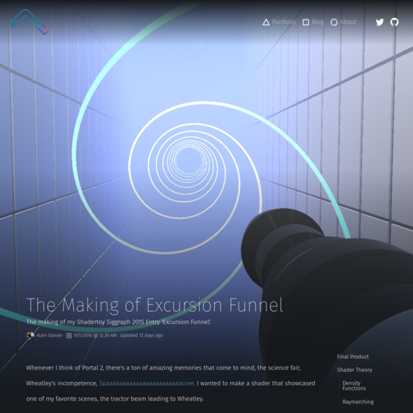 The Making of Excursion Funnel