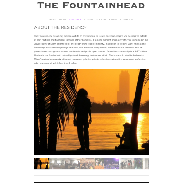 About The Residency - The Fountainhead
