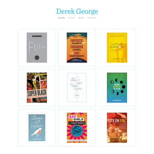 Derek George | Book Cover Design