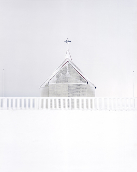 Jack Latham, Guðjón's Church #2, 2015, from Sugar Paper Theories © Jack Latham