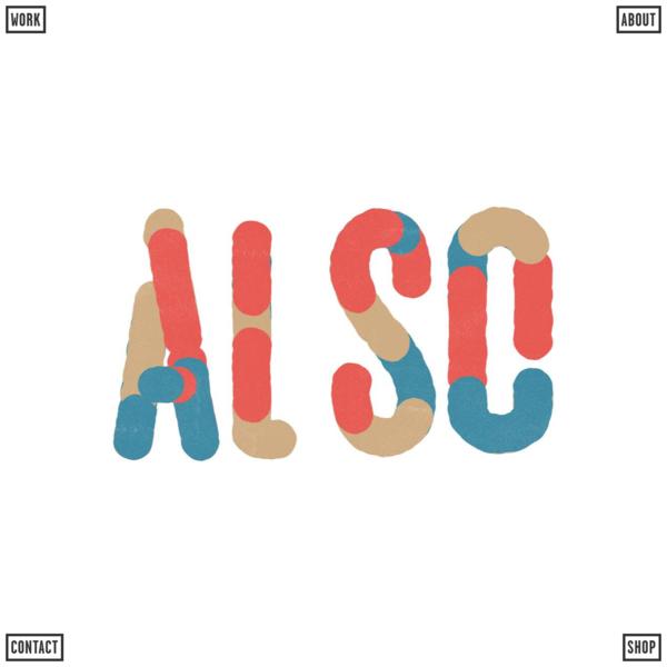 A L S O - Also Design, Also Illustration, Also Animation