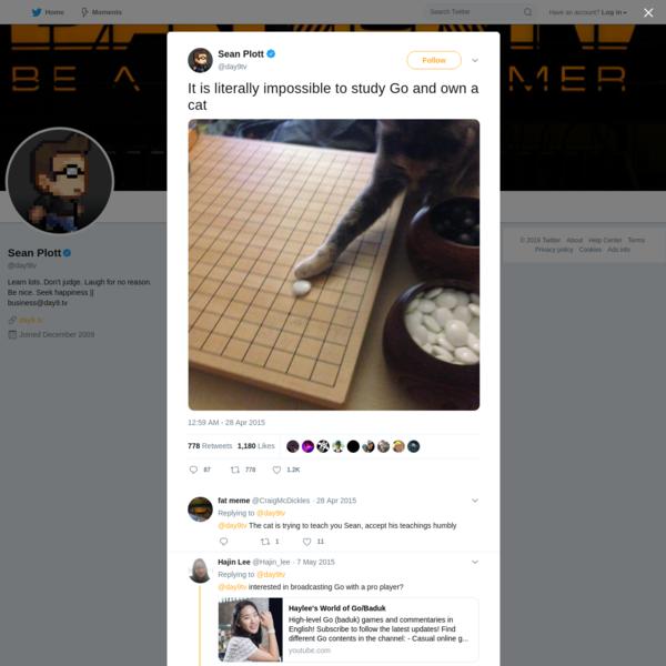 Sean Plott on Twitter