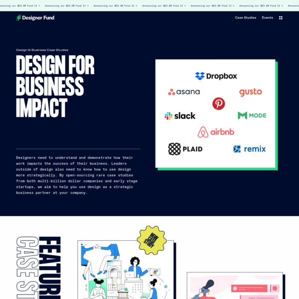 Design For Business Impact   Designer Fund