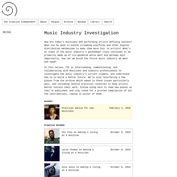 Music Industry Investigation