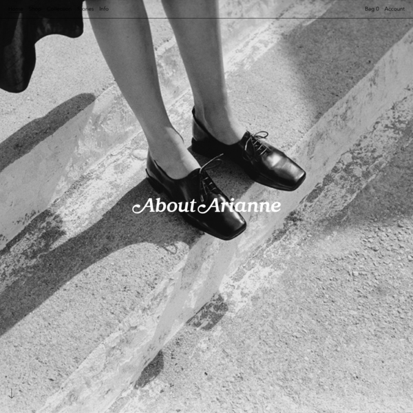 About Arianne - Woman Footwear