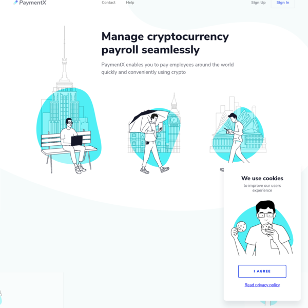Manage cryptocurrency payroll seamlessly