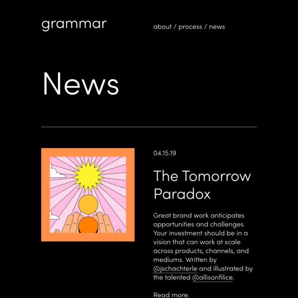 News - Grammar