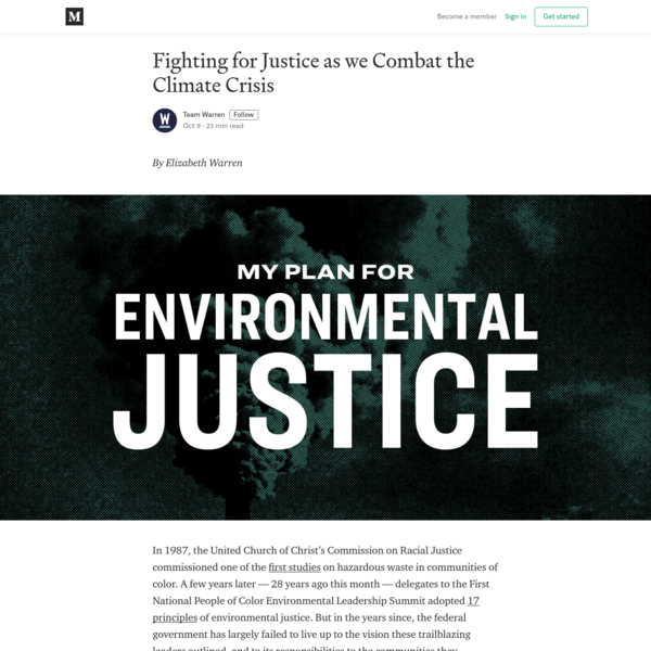 Fighting for Justice as we Combat the Climate Crisis