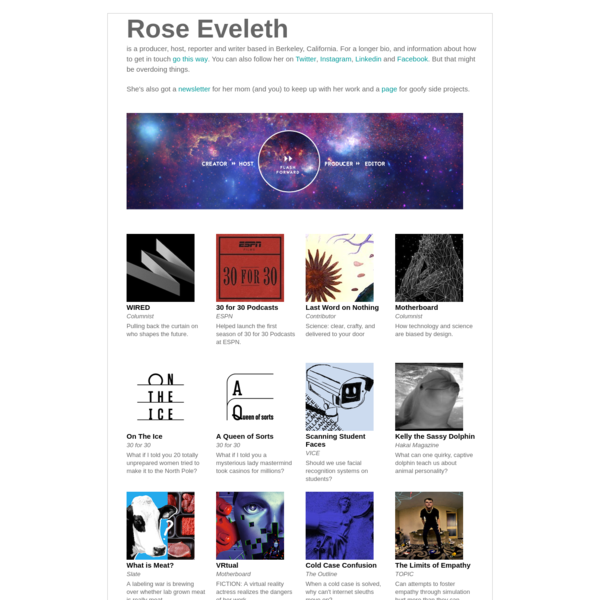 Rose Eveleth