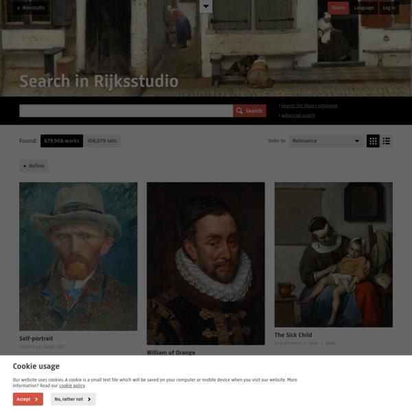 Search - Rijksmuseum