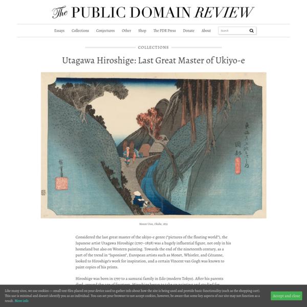 Utagawa Hiroshige: Last Great Master of Ukiyo-e