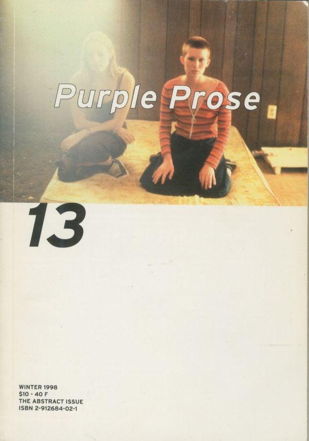1998 | Purple Prose 13