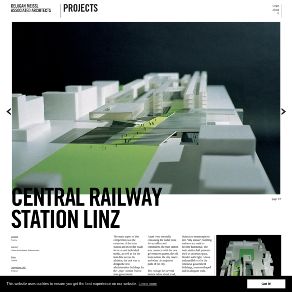 Central Railway Station Linz