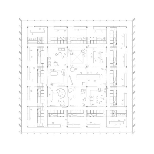 communal villa, dogma - plan