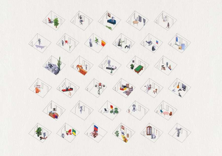 110 rooms, maio - room diagram