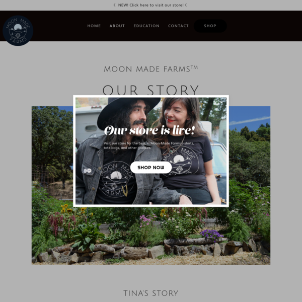 About - Moon Made Farms