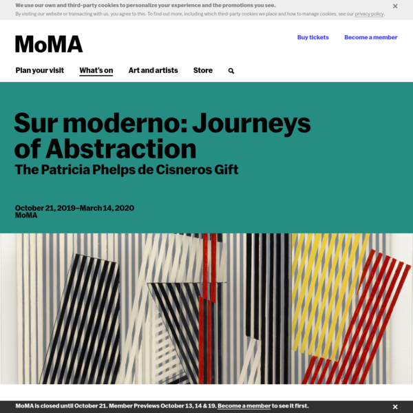 Sur moderno: Journeys of Abstraction ―The Patricia Phelps de Cisneros Gift