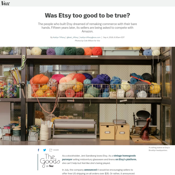 The never-ending, very confusing battle for Etsy's soul