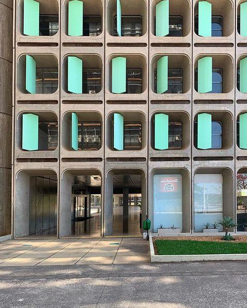 Edificio Camargo Corrèa, João Filgueiras Lima (Lelé) 1974