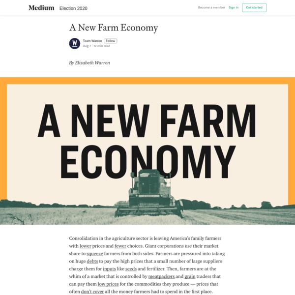 A New Farm Economy