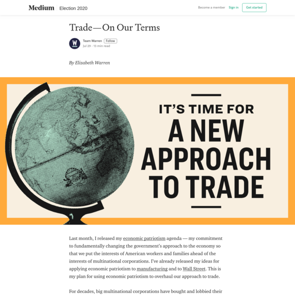 Trade-On Our Terms