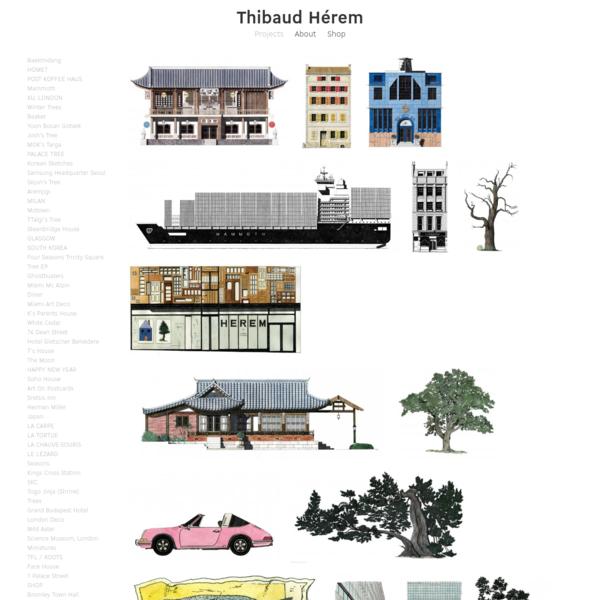 Thibaud Herem - Illustrator