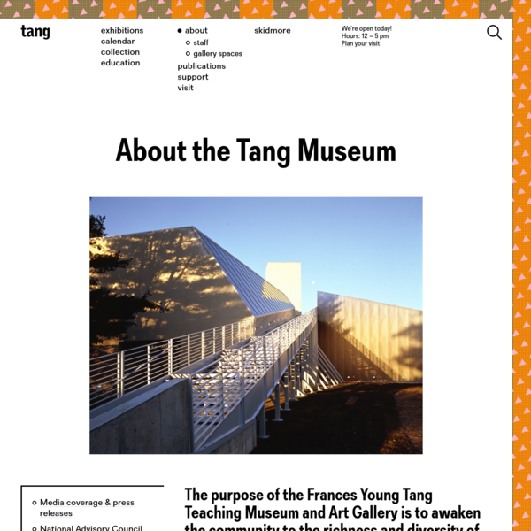 About - Tang Teaching Museum