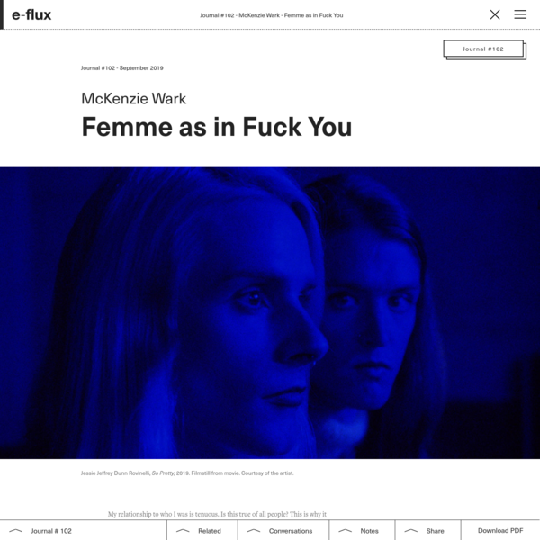 Femme as in Fuck You