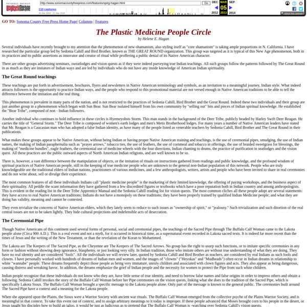 The Plastic Medicine People Circle
