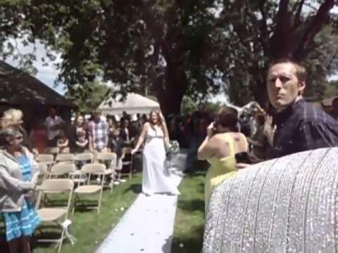 Bride Dances Down The Aisle To Buckcherry s Crazy Bitch