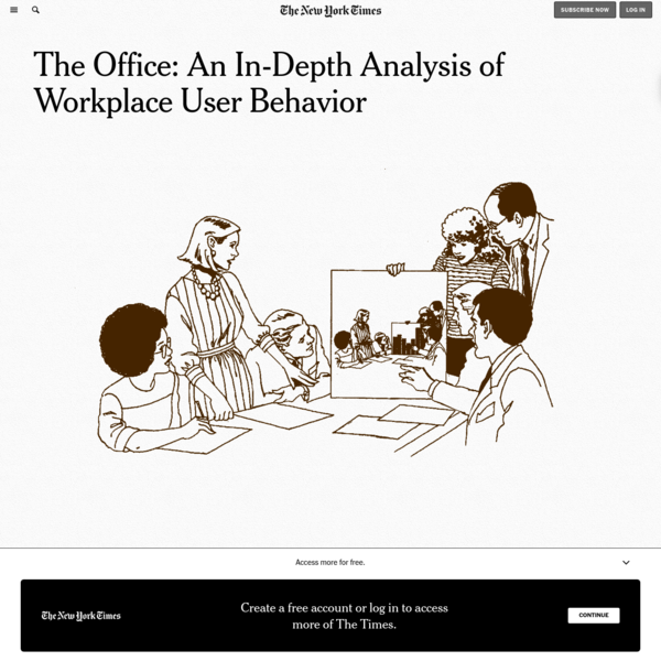 The Office: An In-Depth Analysis of Workplace User Behavior