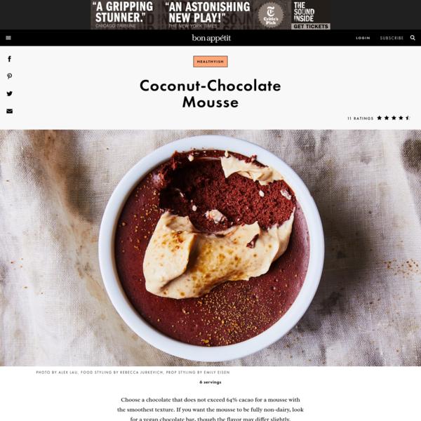 Coconut-Chocolate Mousse Recipe